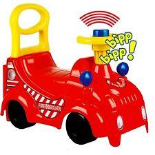 voiture sans pédales Porteur pour enfants Bobbycar auto véhicule POMPIER NEUF