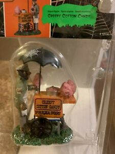 """Mint RARE RETIRED """"Creepy Cotton Candy"""" #12936, Lemax Spooky Town Halloween"""