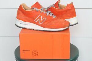 New Balance 997 Concepts Luxury Goods Cncpts Suede Orange sz 11.5