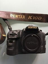 PENTAX K10D CAMERA GRAND PRIX 2007 + GRIP D-BG2 + PROTECTION CAMERA ARMOR RARE !