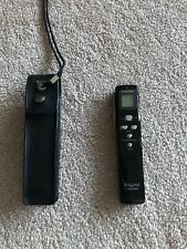 Samsung Digital Voice Recorder Playback Spy Pen Black Gold with Leather Case