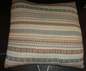Vintage Pair Ralph Lauren Chaps Classic Sweater Pillows Subtle Neutrals