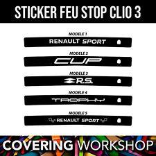 Sticker feu stop Renault Clio 3 RS Renault sport / GT / GT line