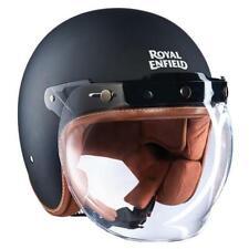 Neues AngebotMotorradhelm Roller Visier A Blase Royal Enfield Schwarz Matt XL