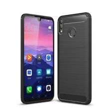 For Huawei Honor 8X Max Case Carbon Fibre Gel Cover Ultra Slim Black Shockproof