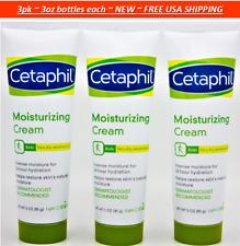 3pk Cetaphil Rich Body Moisturizing Cream for Very Dry Sensitive Skin 3oz each