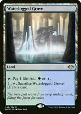 MTG - Morden Horizons -  Waterlogged Grove x 1 NM