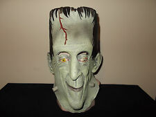 HUGE Herman Munster Frankenstein Halloween Costume Mask Rubber Latex Kayro Vue