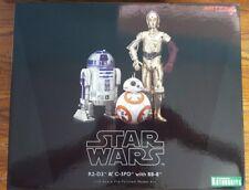 Kotobukiya Star Wars C-3PO R2-D2 w/BB-8