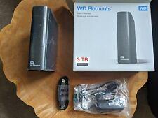 3TB External Hard Drive USB 3.0 with WD Elements Enclosure