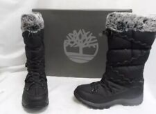 Timberland Women's Chillberg Over The Chill Black Boots Sz. 9.5M NEW TB02160R