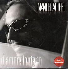 Manuel Auteri-D'Amore Lontano Cd Single Promo Cardsleeve NM 2009 59° Sanremo