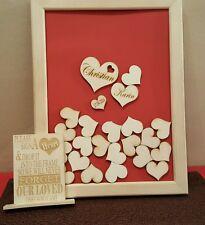 Hochzeit, Gästebuch, Taufe, Geschenk,Personalisiertes Gästebuch, Wedding Book