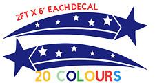 """PAIR LARGE 24"""" SIDE DECALS - Vinyl Stickers - Logo badge car caravan boat van"""