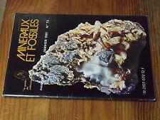8µ? Revue Minéraux & Fossiles Guide Collectionneur n°72 Monastier sur Gazeille