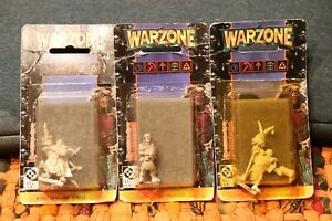 WARZONE Mutant Chronicles Miniature - Lot of 3