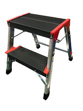 More details for foldable step stool equestrian mounting block tack room horse pony folding farm