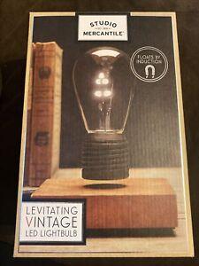 Levitating Vintage Led Lightbulb , Floating Light Bulb , Studio Mercantile