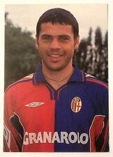 Cartolina Bologna Calcio 2000-01 Max Tonetto