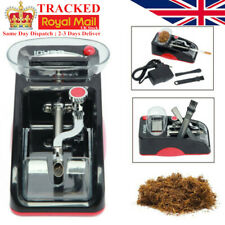Red Automatic Cigarette Injector Rolling Machine Electric Tobacco Maker Roller
