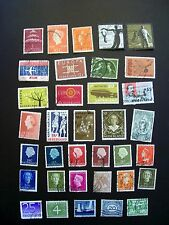 Netherland 35 Count Stamps Used