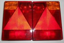 2 x Radex 6800 Rear Trailers Lights 5 Function