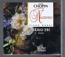 AKIKO EBI (CD NEW) CHOPIN PIANO WORKS NOCTURNES