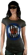 AMPLIFIED THE WHO Logo 68' 70'er Cult Rock Star Vintage Desinger T-Shirt M 40