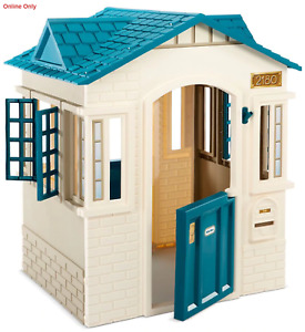 New Little Tikes Cubby House Playhouse Cottage 2 doors window shutters