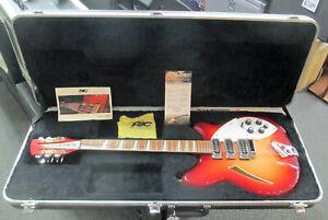 2011 RICKENBACKER 370/12 Twelve String Electric Guitar FireGlo W/HSC XLNT Cond