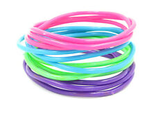 New High Quality 144 Piece Pastel Colored Jelly Bracelet Set #B1009-144