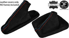 BLACK STITCHING SUEDE SHIFT & E BRAKE BOOT FITS BMW E30 82-91 M3 /// STITCH