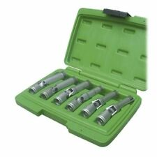 Long Reach Glow Plug Socket Tool Set Removing Fitting 6pc Knuckle Jointed
