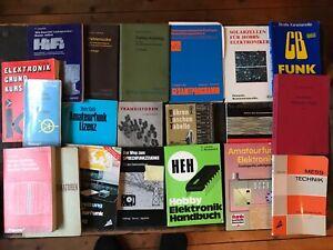 diverse Handbücher Elektronik - Radio, Funk Technik  20 Stück - teils gebunden