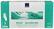 Abena Classic Vinyle poudrés Gants d'examen médical TAILLE 6/7 S Clair 100pcs.