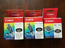 Genuine Canon 2- BC-11, And 1- BC-11e Ink Cartridge Sealed