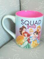 Disney Princesses Squad Goals Ariel Aurora Belle Cinderella Snow White Mug
