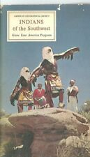 e1 1966 Book & Stickers - INDIANS of the SOUTHWEST American Geographical Society
