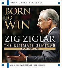 New 2 CD Born To Win Zig Ziglar (Nightingale Coanant)