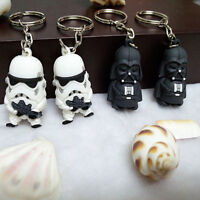 FOR Star War Keychain Darth Vader Storm Trooper Action Key Ring Bag Car Key