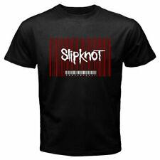 New Slipknot People Are Sh*t Album Barcode Logo Men's Black T-Shirt Free Ship
