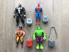 1991 ToyBiz Marvel Electronic Talks Series - Venom, Spider-Man, Wolverine, Hulk