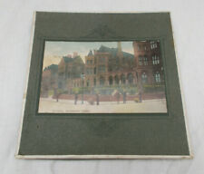 Vintage Handkerchief Storage Holder - Souvenir Leeds General Infirmary