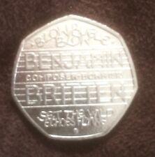 Benjamin Britten Composer 50p Coin Limited Edition -2013 rare Collectors Item