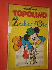 ALBO D'ORO SPECIALE-topolino zecchino d'oro-1969 b -completo bollini-mondadori