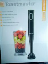 Toastmaster Immersion Hand Blender Mixer Black with 700ml Blending Cup 100W
