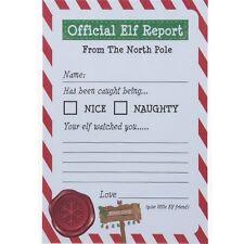 25 NATALE angolo di elfo Novità Divertente accessori elfi Reports Natale Bambini