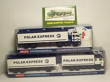 Kombiangebot: 1x Scania Hz,1x Volvo F 88 Sz Polar-Express(ASG?) Wiking 1:87 Sond