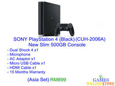 SONY PlayStation 4 500GB New Slim Console (Asia Set) ★Brand New & Sealed★
