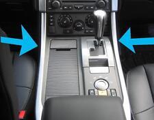 2 x Silver Centre Console interior trim Panels Range Rover Sport 2005-2009 new
